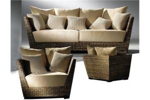 Как делают мебель из ротанга