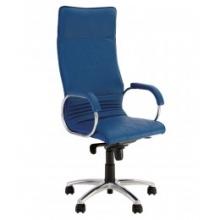 Кресло ALLEGRO STEEL CHROME ECO кожа