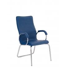 Кресло ALLEGRO STEEL CFA LB CHROME ECO кожа