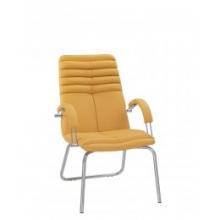 Кресло GALAXY STEEL CFA LB CHROME ECO кожа